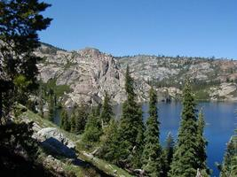 A Lake in the Californian Mountains (Plumas National Forest)