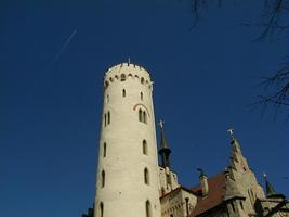 The Tower of the Castle of Lichtenstein (Schloß Lichtenstein)