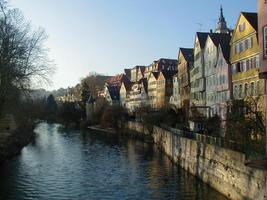 Tuebingen by the Neckar River